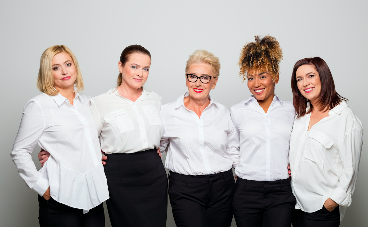 Businesswomen portraits